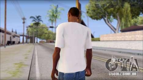 Free Bird T-Shirt para GTA San Andreas segunda tela