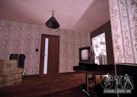 O interior do apartamento para GTA San Andreas segunda tela