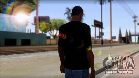 Diablo T-Shirt para GTA San Andreas segunda tela