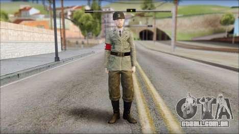 Wehrmacht soldier para GTA San Andreas