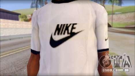 Nike Shirt para GTA San Andreas terceira tela