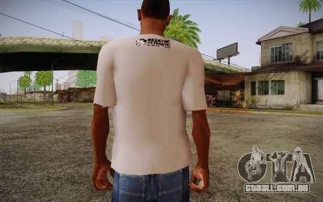 Nick Automatic T-Shirt para GTA San Andreas segunda tela