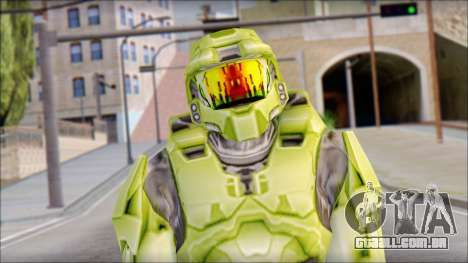 Masterchief Green from Halo para GTA San Andreas