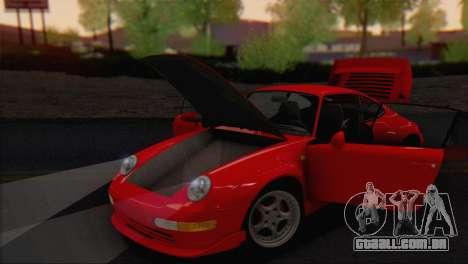 Porsche 911 GT2 (993) 1995 V1.0 EU Plate para GTA San Andreas vista interior
