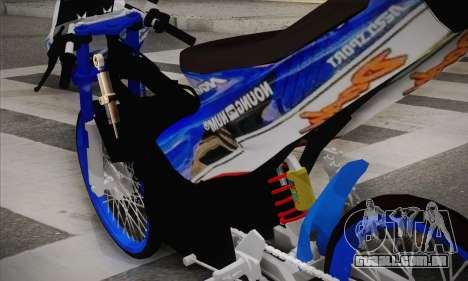 Honda Dash 2 tak para GTA San Andreas traseira esquerda vista