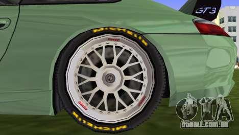 Porsche GT3 Cup 996 para GTA Vice City vista traseira