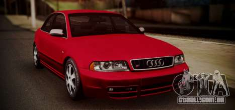 Audi S4 Stock 2000 para GTA San Andreas esquerda vista