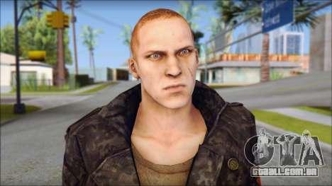 Jake Muller from Resident Evil 6 para GTA San Andreas terceira tela