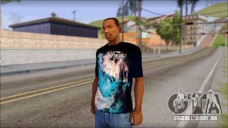 Avenged Sevenfold Nightmare Fan T-Shirt para GTA San Andreas