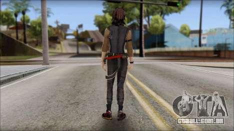 Rebecca para GTA San Andreas segunda tela
