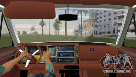 Jeep Cherokee v1.0 BETA para GTA Vice City vista traseira esquerda