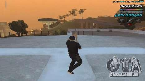 C-HUD by ShnoorOK para GTA San Andreas
