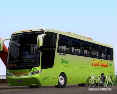 Busscar Vissta LO Scania K310 - Tur Bus para GTA San Andreas esquerda vista