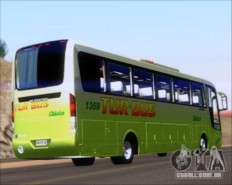 Busscar Vissta LO Scania K310 - Tur Bus para GTA San Andreas vista direita