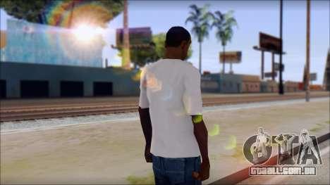 Axl Rose T-Shirt Mod para GTA San Andreas segunda tela