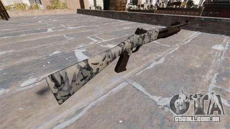 Ружье Benelli M3 Super 90 crânios para GTA 4 segundo screenshot