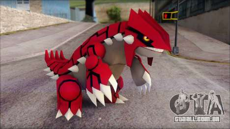 Groudon Pokemon para GTA San Andreas