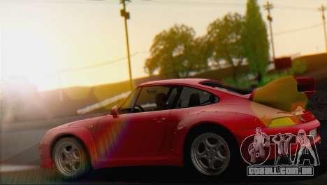 Porsche 911 GT2 (993) 1995 V1.0 EU Plate para GTA San Andreas vista direita