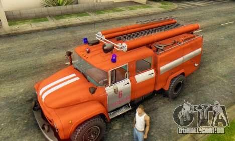 ZIL 130 CA-40 para GTA San Andreas vista traseira