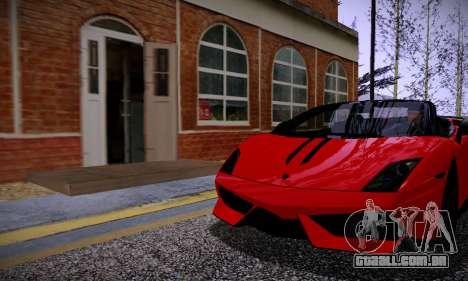 ENBSeries for low PC v2 fix para GTA San Andreas terceira tela