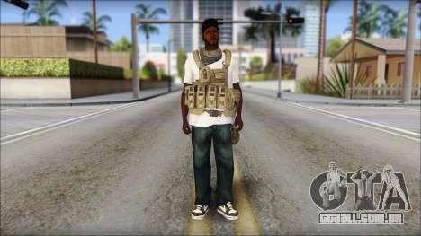 Sweet Mercenario para GTA San Andreas segunda tela