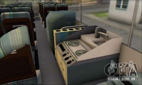 Setra S215 HD para GTA San Andreas vista interior