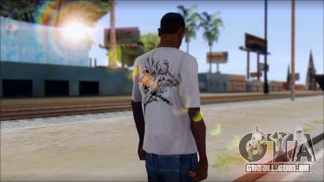 Superman T-Shirt para GTA San Andreas segunda tela