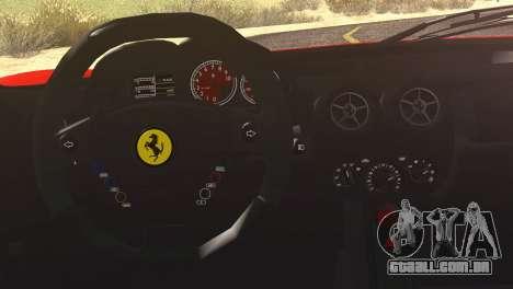 Ferrari Enzo 2002 para vista lateral GTA San Andreas