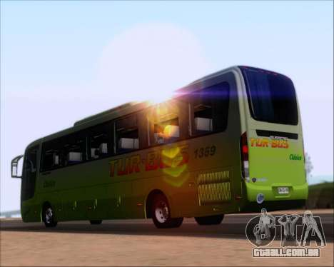 Busscar Vissta LO Scania K310 - Tur Bus para GTA San Andreas traseira esquerda vista