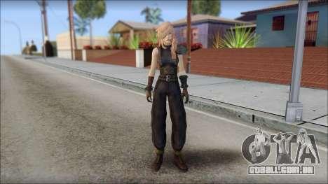 Final Fantasy XIII - Lightning Lowpoly para GTA San Andreas
