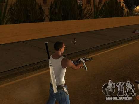 AK47 from CS:GO para GTA San Andreas por diante tela