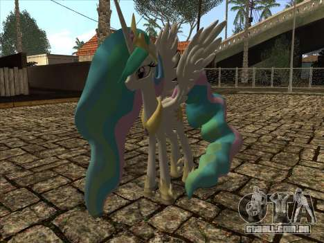 Princess Celestia para GTA San Andreas