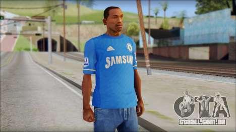 Chelsea FC 12-13 Home Jersey para GTA San Andreas
