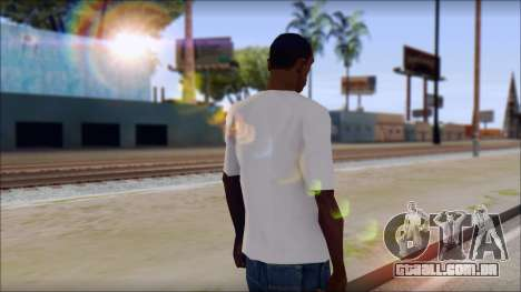 Anarchy T-Shirt v3 para GTA San Andreas segunda tela