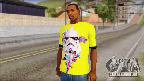 Star Wars Clone T-Shirt para GTA San Andreas