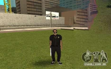 Swag Police para GTA San Andreas quinto tela