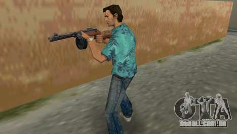 Submachine Gun Shpagina para GTA Vice City segunda tela