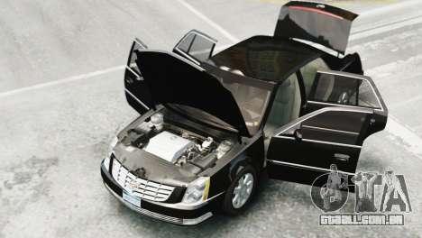 Cadillac DTS 2006 v1.0 para GTA 4 traseira esquerda vista