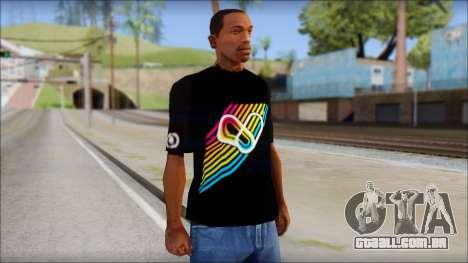 I Love Electro T-Shirt para GTA San Andreas