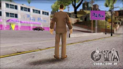Dr. Crabblesnitch from Bully Scholarship Edition para GTA San Andreas terceira tela