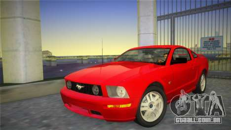Ford Mustang GT 2005 para GTA Vice City