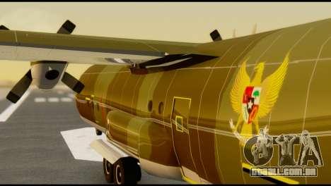 C-130 Hercules Indonesia Air Force para GTA San Andreas vista interior