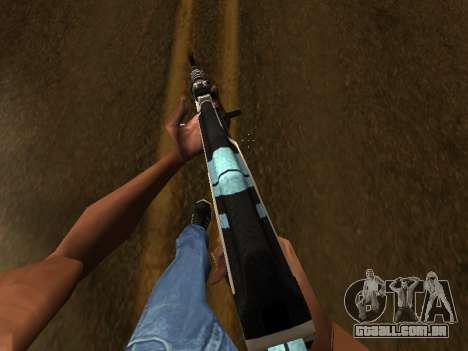 AK47 from CS:GO para GTA San Andreas terceira tela