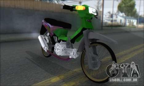 Kawasaki Kaze R para GTA San Andreas