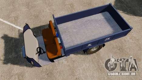 Agrícola triciclo para GTA 4 vista direita