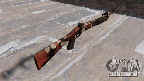 Ружье Benelli M3 Super 90 vermelhos para GTA 4 segundo screenshot