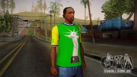 RIO T-Shirt para GTA San Andreas