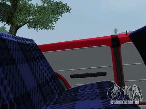 VAZ 2101 Conversível para GTA San Andreas vista traseira