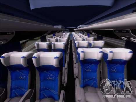 Marcopolo Paradiso 1200 Harapan Jaya para GTA San Andreas vista inferior