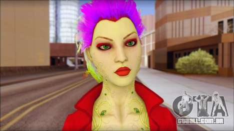Poison Ivy PED para GTA San Andreas terceira tela